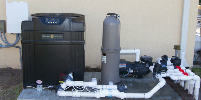 How to install and operate a swimming pool heat pump | Pumps Africa
