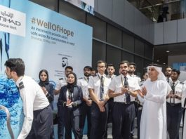 Etihad Aviation Group to boost water access in Africa