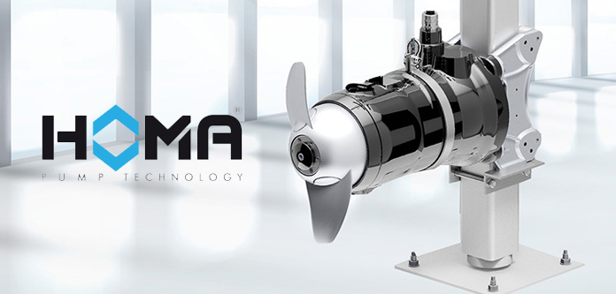 Homa Pumps unveils new submersible motor agitator with optimized