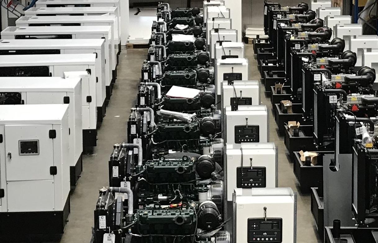 Diesel Generator Manufacture Wins Fast Track Award | Pumps