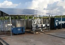 GivePower solar-powered desalination plant turning salt water to drinking water in Kenya