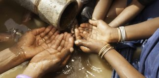 If we want water for all, building more taps just isn't going to wash