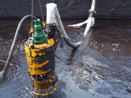 slurry submersible pumps in dewatering