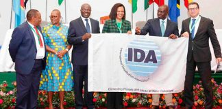 IDA Presents the World Congress Flag to Kenya - 2021 IDA World Congress host