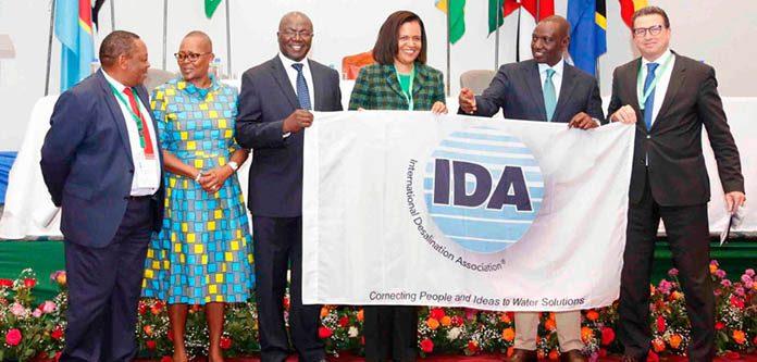 IDA Presents the World Congress Flag to Kenya - 2021 IDA World Congress host