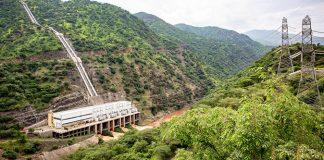 Ethiopian hydropower plant Gilgel Gibe II