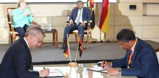 Voith Hydro signs MoU to build a training center in Angola